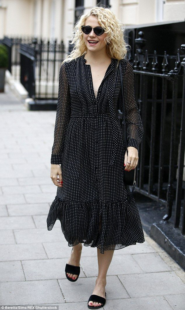 Looking good! Pixie Lott was on fine fashion form when she stepped out in London's West End on Thursday