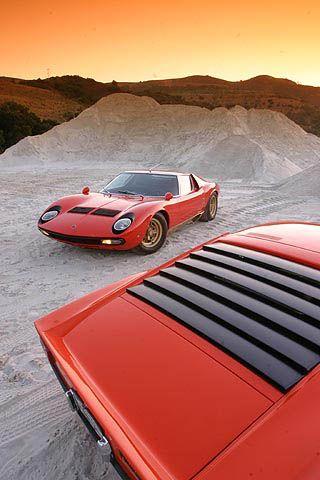 Lamborghini Miura - O que encanta são esses olhos da Twiggy...