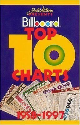 Billboard Top 10 Charts (by Joel Whitburn)