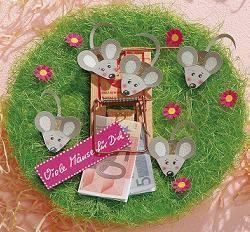 Es steht eine Hochzeit, ein Geburtstag oder eine Babyparty an? 13 lustige Geld-Geschenk Ideen! - DIY Bastelideen