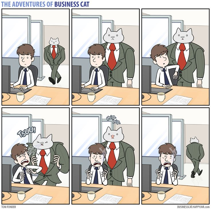 The Adventures of Business Cat — (via Business Cat - Congestion)