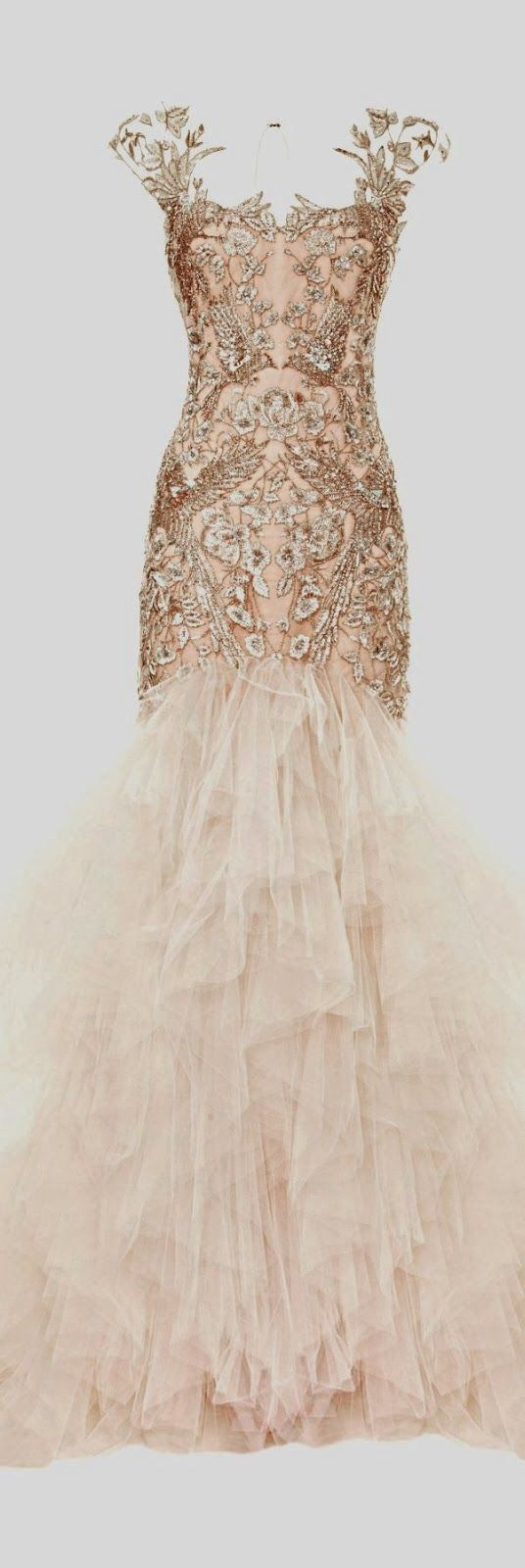 Alexander mcqueen 2016 wedding dresses pinterest for Pink and gold wedding dress