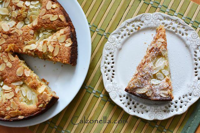 Bezglutenowe ciasto migdałowe z gruszką - Najlepsze! | Calzonella