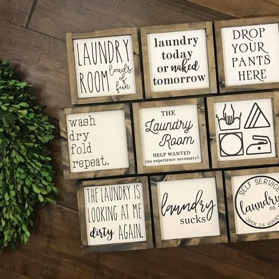 The Laundry Collection Laundry Room Sign Laundry Today Or Etsy Laundry Room Signs Self Service Laundry Room Signs