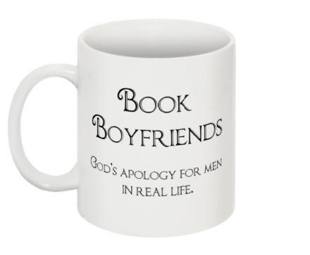 Book lover mug Mug - 11 oz - Book Boyfriends - romantic gift - love - unique mug - personalized - magnet - funny - romantic books
