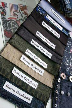 Tipos de barras para calça                                                                                                                                                                                 Mais