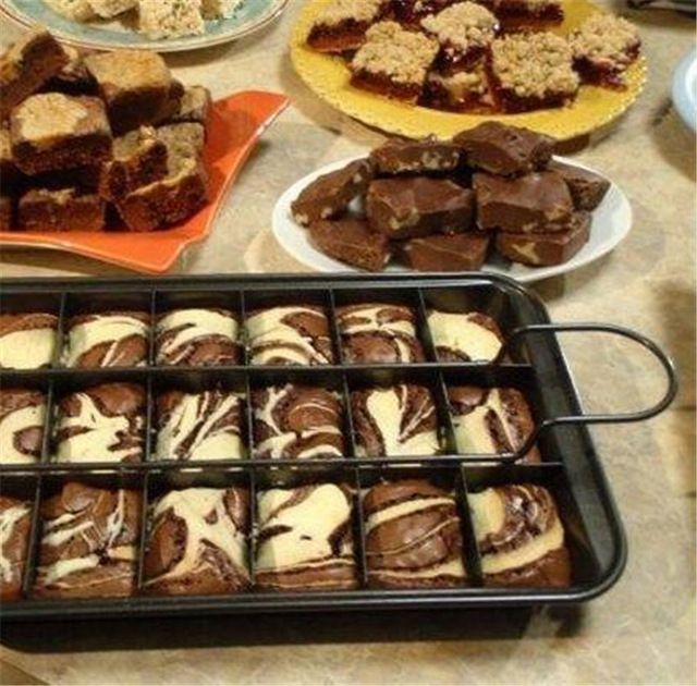 De alta calidad De Acero Al Carbono Fabricante de Cheesecake Brownie Pan Set Cortador Del Molde Pan Soporte de la Herramienta Para Hornear Utensilios de Cocina