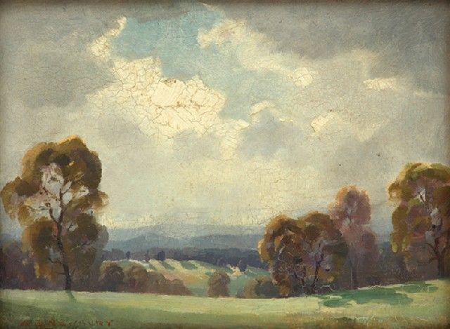 Soft Sunlight, Oil, Albert Ernest Newbury