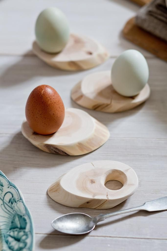 DIY-Eierbecher-Holz