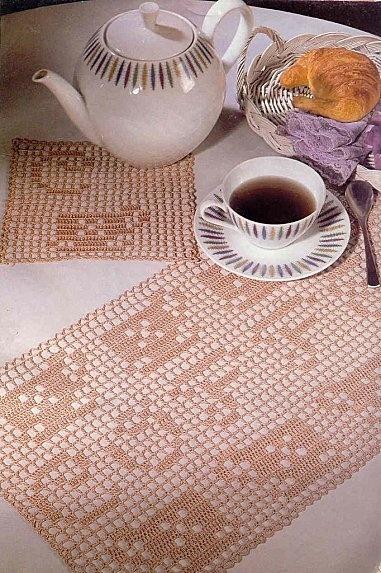Set de table et dessous de verre Coffee