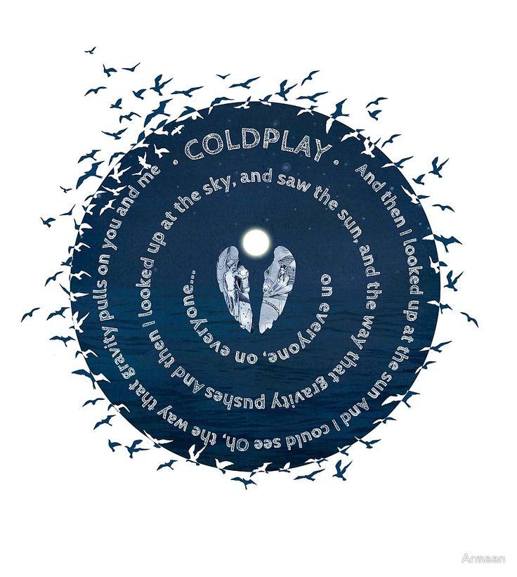 Coldplay - Gravity by Armaan  #coldplay #shirt #ghost stories #art #digital art