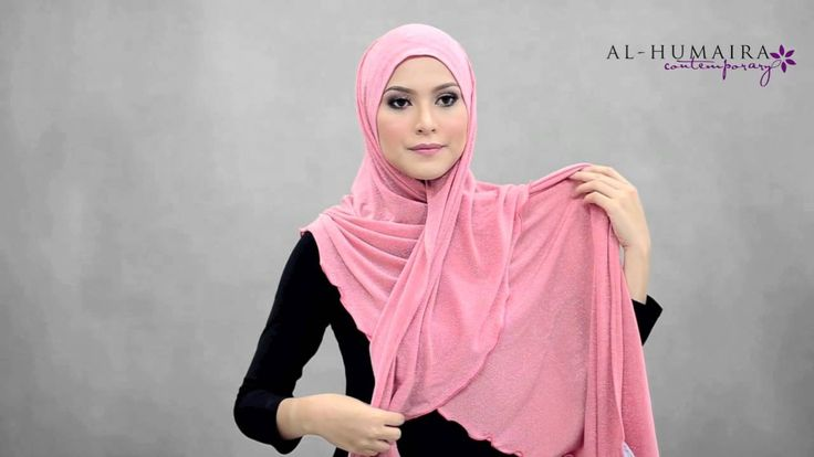 ROXANE shawl styling tutorial by Al-Humaira Contemporary