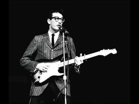 Buddy Holly - Not Fade Away - 1957 - when I went to see the stage show of The Buddy Holly Story I had a sore throat from singing along and red eyes from crying - what a state to get into ;-)
