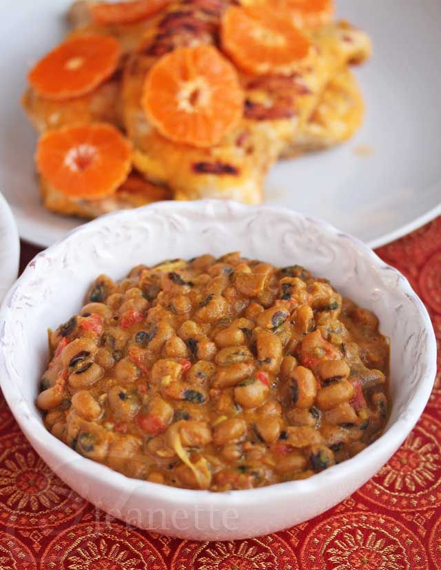 Inspiration and Ghanaian Black Eye Pea Curry Recipe - Jeanette's Healthy Living