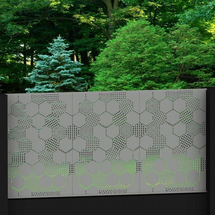 HexoHexo 1015 Tixxy infill panels in Aluminium