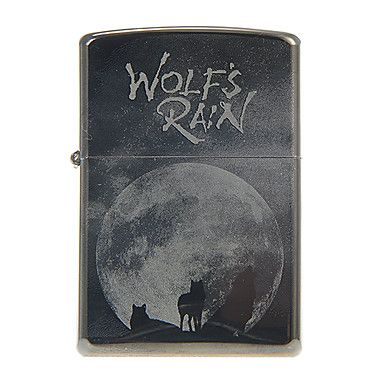Zippo Wolves Metal