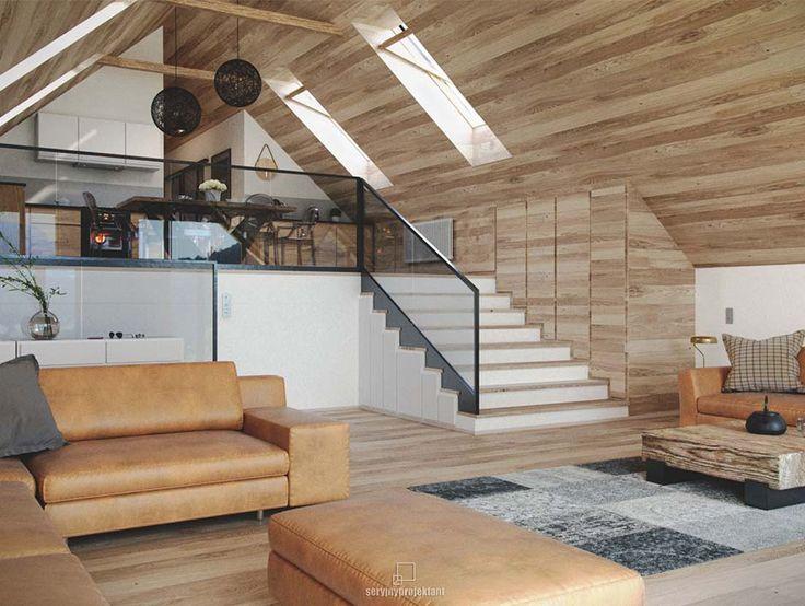 Górski Loft / Seryjny Projekt – nowoczesna STODOŁA   wnętrza & DESIGN   projekty DOMÓW   dom STODOŁA