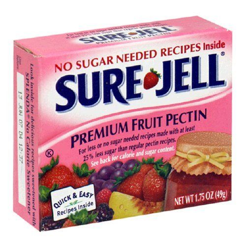 All you need is strawberries, jam containers, sugar, and the pink box of low sugar Sure-Jell from the grocery store:  The recipe is inside the box. You cut and mash the strawberries in a big bowl, cook the pectin and sugar on the stove, then stir it all together and put in containers.