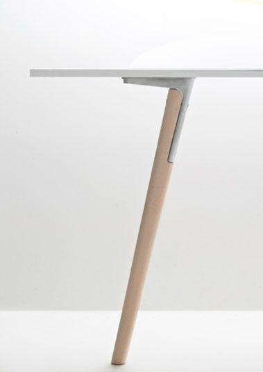 Designed By The Bouroullec Brothers This Slender Furniture Range Features  Cast Aluminium Connectors Between The Legs And Table Top.