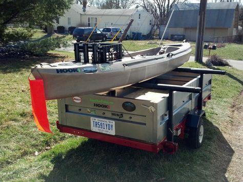 Hacking a Harbor Freight Trailer Kit – Kayak Edition   Geek-Fish