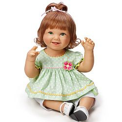 Baby Doll: Lily Baby Doll - Realistic Baby Dolls