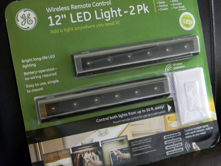 Led Under Cabinet Lighting Battery Powered Remote - One-hundred-and-thirty years ago, Thomas Edison accomplished the first s