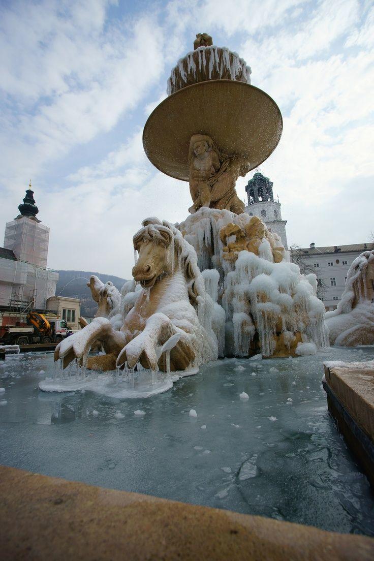 Salzburg, Residenzbrunnen, Austria  #Austria  #Holiday #Travel  #Vacation #SMtravel #TNI #RTW