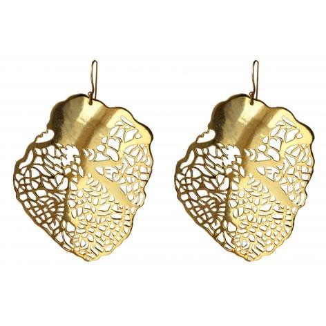'Heart of Gold' Earrings