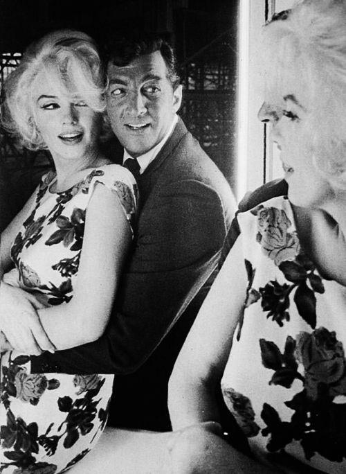 Marilyn Monroe y Dean Martin ♥ 1962, cuidado con esas manos muchacho!!!!