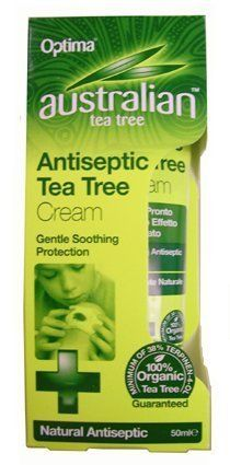 Ransom Australian Tea Tree Antiseptic Cream 50 Ml by Ransom Australian Tea Tree. $7.75. Australian Tea Tree Organic Antiseptic Cream Is Our Antiseptic Tea Tree Cream Is Easily Absorbed, Gentle And Soothing To The Skin. It Is A Non Greasy Cream With A Wide Variety Of Applications Such As Cuts And Grazes, Relieving Rashes, Skin Irritations And Insect Bites. Directions For Use Apply Gently And Liberally To The Appropriate Area. Cautions Avoid Contact With Eyes. For Exter...