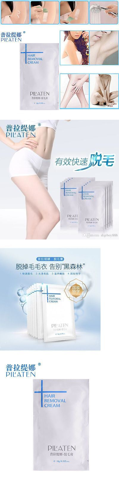 Hair Removal Creams and Sprays: 10G Pilaten Natural Hair Removal Depilatory Cream Painless - Free Us Shipping!! BUY IT NOW ONLY: $46.99