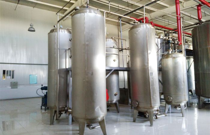 Storage manufacturing other starch and syrup industry products