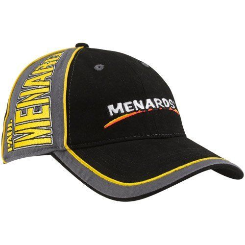NASCAR Chase Authentics Paul Menard Black-Gray Big Name Colorblock Adjustable Hat by Football Fanatics. $24.95. Chase Authentics Paul Menard Black-Gray Big Name Colorblock Adjustable HatStructured fitOfficially licensed NASCAR productImportedSix panels with contrasting eyeletsQuality embroideryAdjustable hook and loop fastener strap100% Cotton100% CottonStructured fitAdjustable hook and loop fastener strapQuality embroiderySix panels with contrasting eyeletsImportedOfficially l...