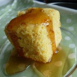 Golden Sweet Cornbread - This is delicious, I used freshly ground whole wheat flour and corn meal and honey crystals instead of the sugar. My family loved it!