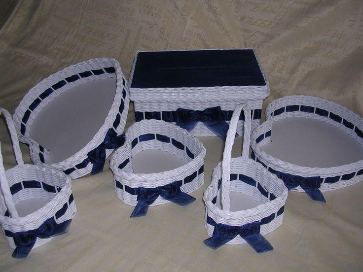 Svatební+souprava+královská+modrá+Souprava+zhotovená+na+přání