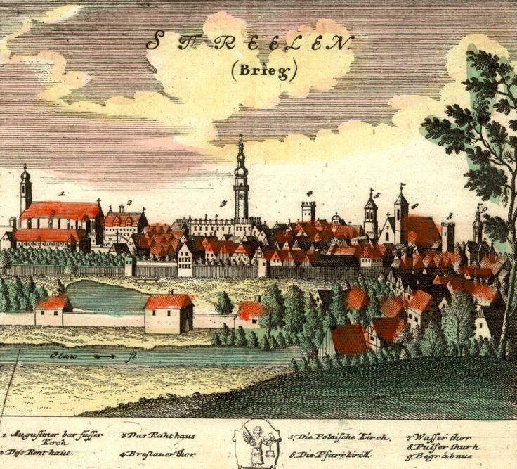 Strzelin (Streelen) - Rok 1737