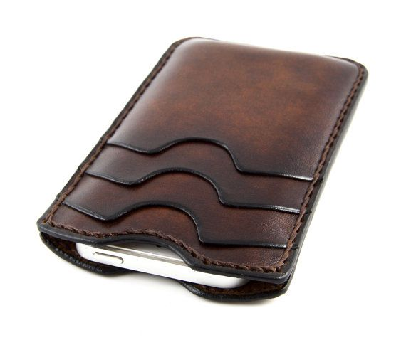 ITALIAN  iPhone 5/5s Leather Wallet with by GiordanoArtLeather, €74.36