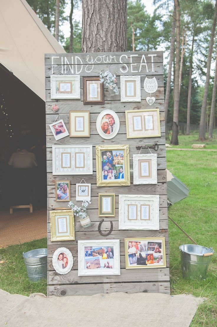 Wooden Pallet Table Seating Plan Frames Chart Quirky Natural Woodland Wedding http://lisahowardphotography.co.uk/