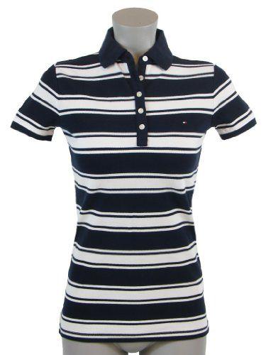Tommy Hilfiger Slim Fit Womens Logo Polo Shirt