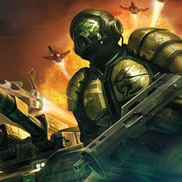 I just played Command and Conquer: Tib'erium Alliances http://www.wildtangent.com/Games/command-and-conquer-tiberium-alliances