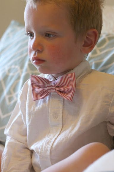 DIY: Simple Toddler Bowtie