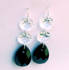 SALE -These stunning Hepburn earrings were inspired by Breakfast at Tiffanys.