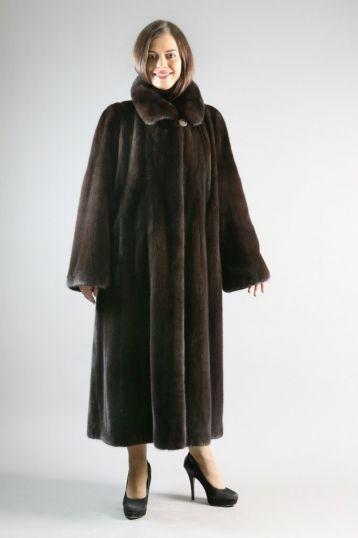 """""""Минус 30"""" Цены на норковые шубы, Новосибирск. Модели шуб из норки."""