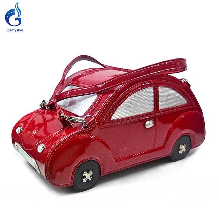 Beetle car Bag fashion Sweet black car Pu Leather Who like it ? #shop #beauty #Woman's fashion #Products #homemade