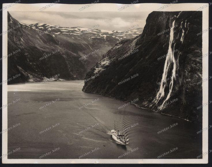 Geirangerfjord-MY Stella Polaris-Norwegen-1930 er Jahre-Norway