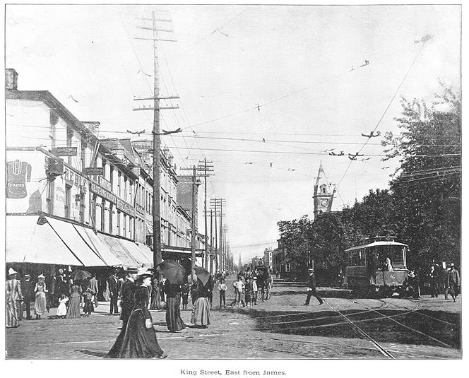 King Street, east from James 1893