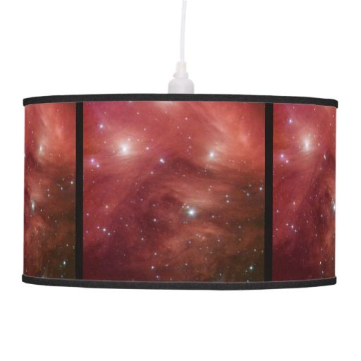 Pink Pleiades Star Cluster lamp