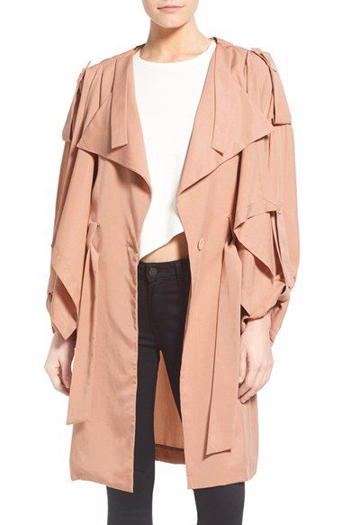 KENDALL + KYLIE KENDALL + KYLIE Drapey Trench Coat available at #Nordstrom