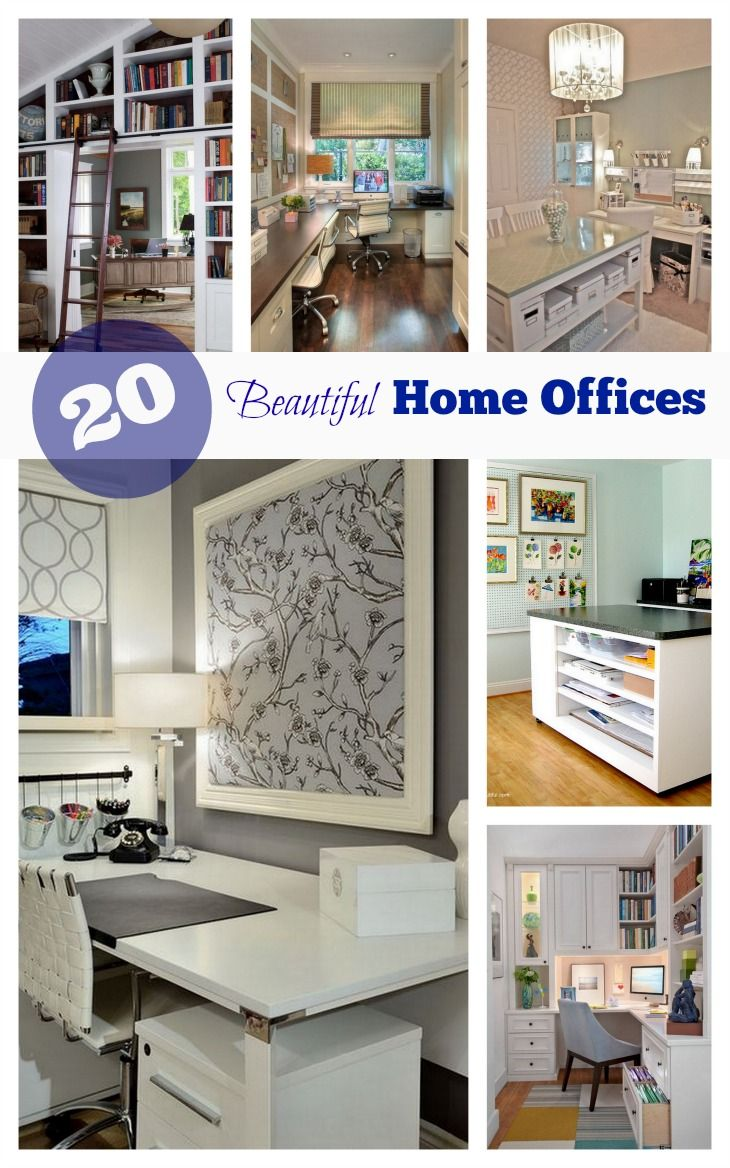 Get inspired by these 20 beautiful home offices