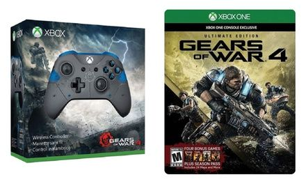 [Groupon] (Xbox One)Gears of War 4-Wireless Controller Bundle ($65/38% off)